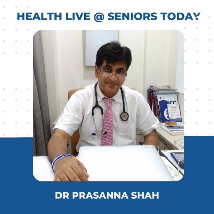 Dr Prasanna Shah - Health Webinar Takeaways Seniors Today