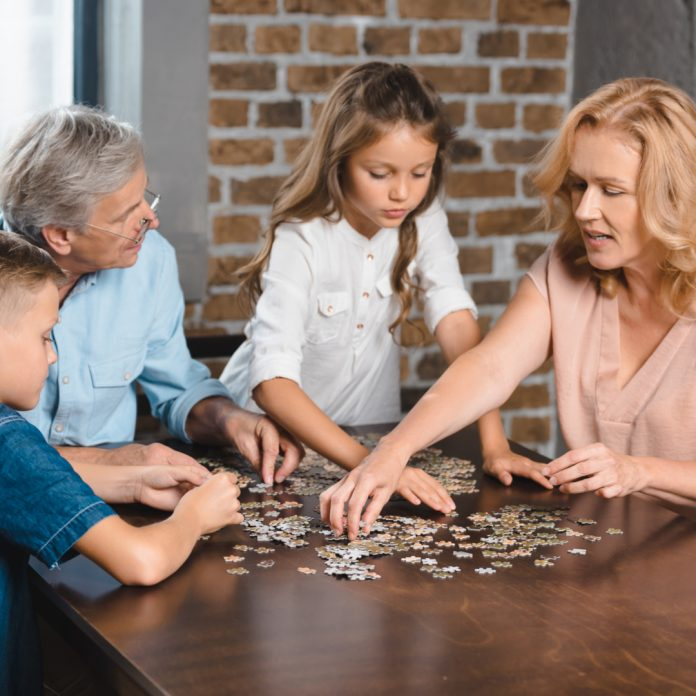 How A Jigsaw Puzzle Can Bond Family - Seniros Today Magazine for Seniors