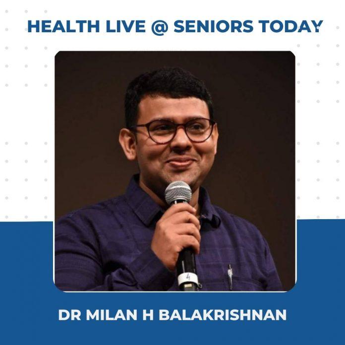 Milan H Balakrishnan - Health Webinar Takeaways Seniors Today