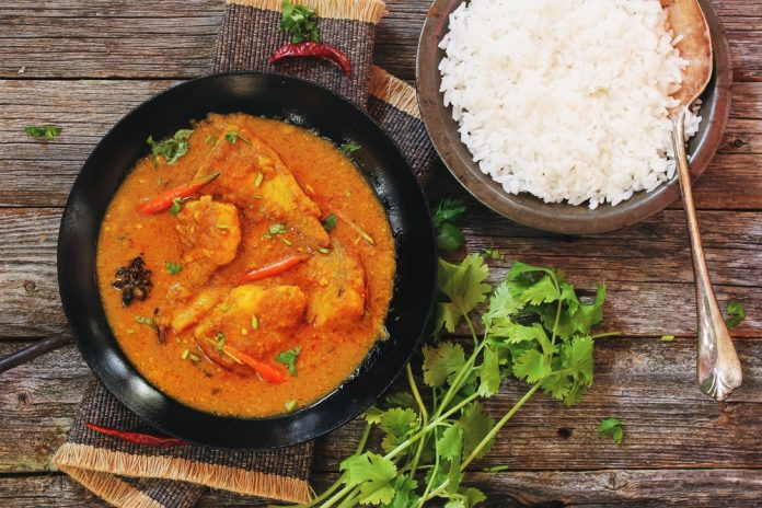 The Seniors Kitchen Exquisite Fish Curry Rice Seniors Kitchen by Seniors Today
